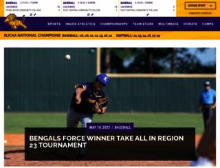 athletics.lsue.edu screenshot