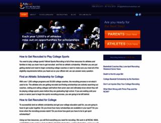 athleticscholarships.net screenshot