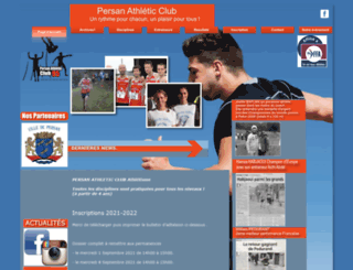 athletiqueclubpersan.free.fr screenshot