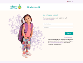 athome.kindermusik.com screenshot