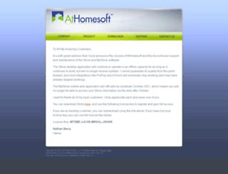 athomesoft.com screenshot