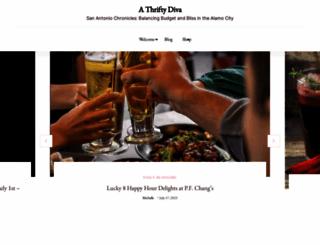 athriftydiva.com screenshot