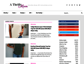 athriftymom.com screenshot