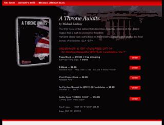 athroneawaits.com screenshot