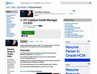 ati-catalyst-install-manager.updatestar.com screenshot