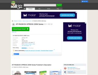 Ati radeon xpress 200m series download driver