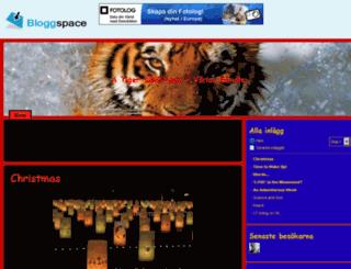 atigerwithlove.bloggspace.se screenshot