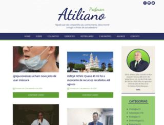 atiliano.com.br screenshot