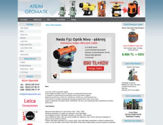 atilimgeomatik.com screenshot