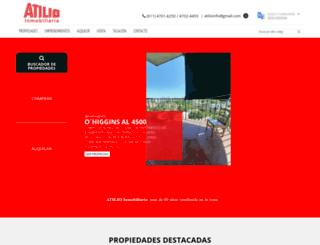 atilioinmobiliaria.com.ar screenshot
