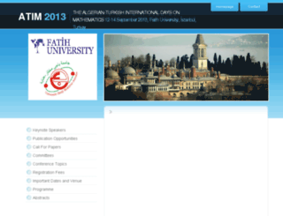 atim.fatih.edu.tr screenshot