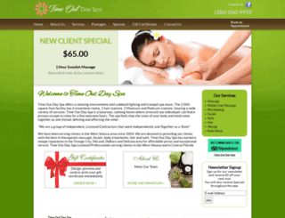 atimeoutmassage.com screenshot