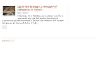 atisbos.org screenshot