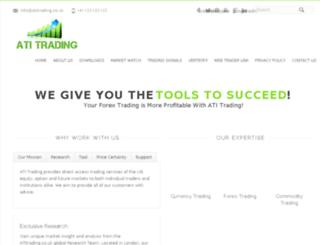 atitrading.co.uk screenshot
