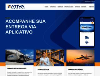 ativalog.com.br screenshot