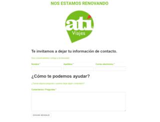 ativiajes.cl screenshot