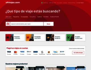 ativiajes.com screenshot