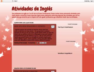 atividadesdeingles-neia.blogspot.com.br screenshot