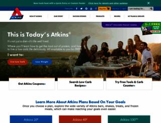 atkins.com screenshot