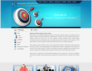 atkominfotech.com screenshot