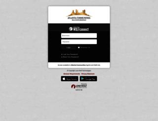 atl703-connect.globalwolfweb.com screenshot