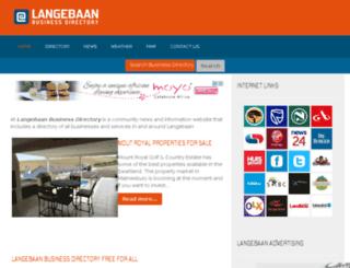 atlangebaan.co.za screenshot