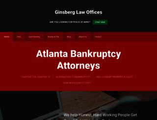atlanta-bankruptcy.com screenshot
