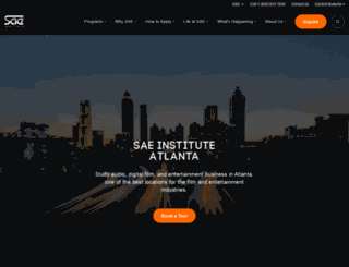 atlanta.sae.edu screenshot