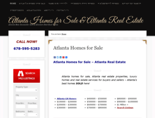 atlantabesthomes.com screenshot