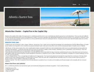 atlantacharterbus.yolasite.com screenshot