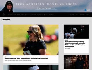 atlantafalcons.com screenshot