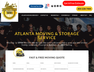 atlantafurnituremovers.com screenshot