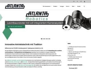 atlantagmbh.de screenshot