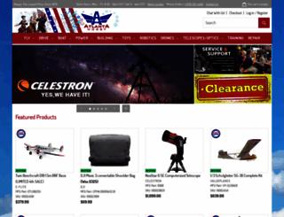 atlantahobby.com screenshot