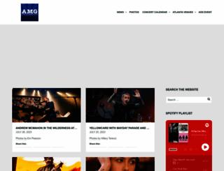 atlantamusicguide.com screenshot