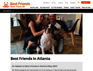 atlantapetrescue.org screenshot