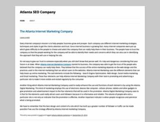 atlantascocompany.wordpress.com screenshot