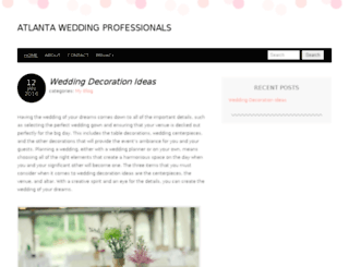 atlantaweddingprofessionals.com screenshot