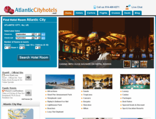 atlantic-cityhotels.net screenshot