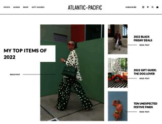 atlantic-pacific.blogspot.com screenshot