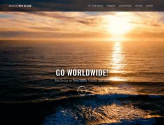 atlantic-webdesign.com screenshot