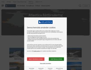 atlantica.se screenshot