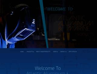 atlanticaluminummarine.com screenshot