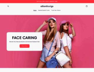 atlanticcigs.com screenshot
