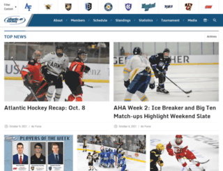 atlantichockeyonline.com screenshot