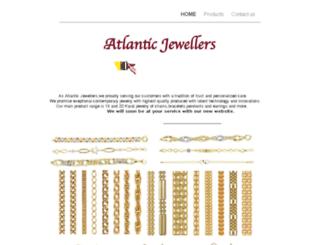 atlanticjewellers.com screenshot