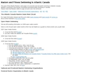 atlanticmasters.org screenshot