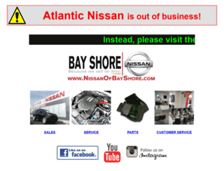 atlanticnissan.com screenshot