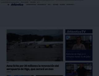 atlantico.net screenshot