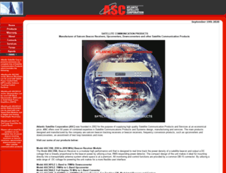 atlanticsat.com screenshot
